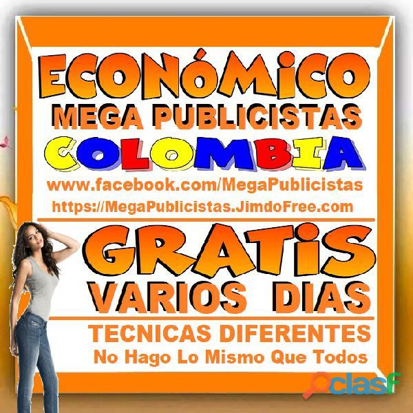 ⭐ GRATIS, Mega Publicistas MEDELLIN, Super Publicista, Ultra Agencia Publicidad, Marketing Digital, 2