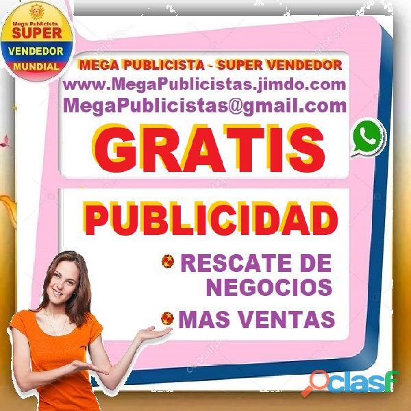 ⭐ gratis, mega publicistas, ultra vendedor, super publicista, agencia publicidad, bogota, soacha, fu