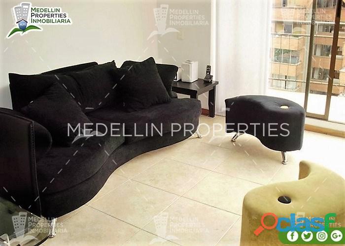 Furnished apartment for rental medellín cód: 4117