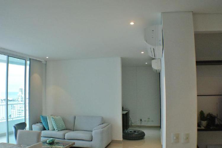 Apartamento en arriendo en cartagena manga cod: 9517