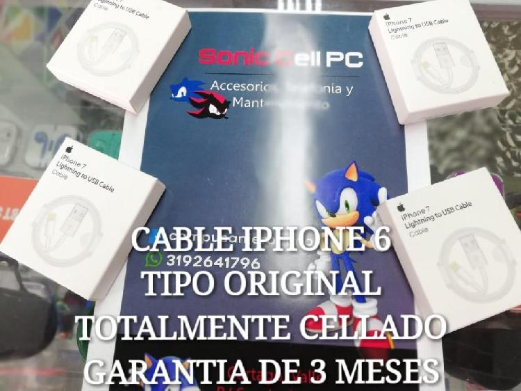 Cable tipo original iphone