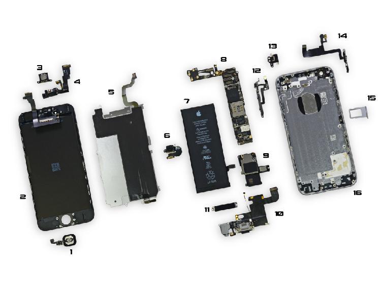 Lote repuestos y accesorio iphone e ipad