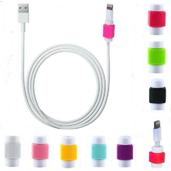 Protector de cable lightning ipod ipad iphone 4 4s 5 6
