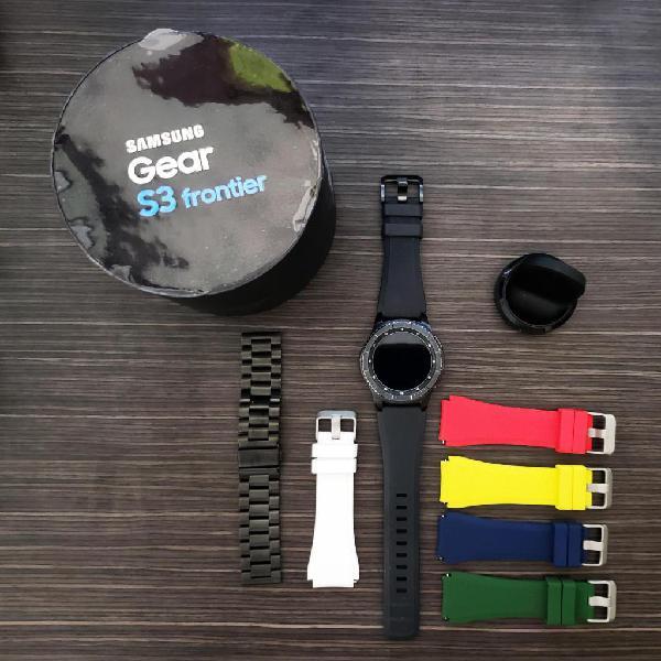 Samsung s3 frontier con accesorios perfecto estado.