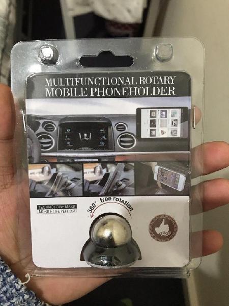 Soporte multifuncional giratorio para teléfono móvil para
