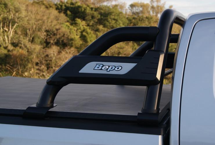 Barra antivuelco b3 negra chevrolet dmax