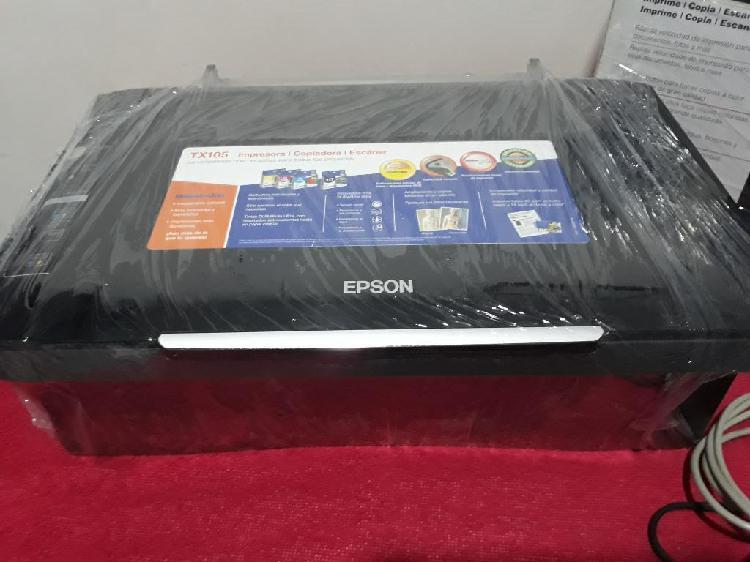 Impresora epson tx105 multifuncional