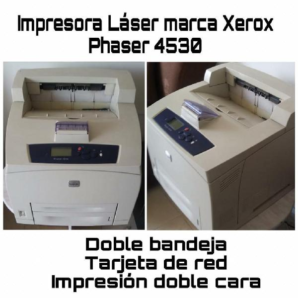 Impresora xerox phaser 4530
