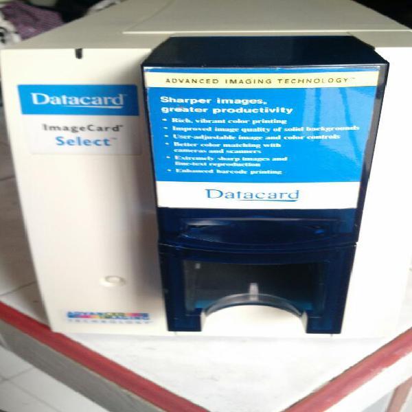 Impresora a color datacard image