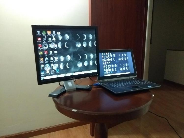 Monitor dell 15 pulg.impresora hp