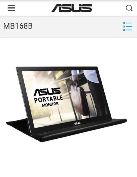 Monitor portable asus