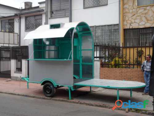 Fabrica y Venta Remolques Food Trucks en Bogota y Colombia