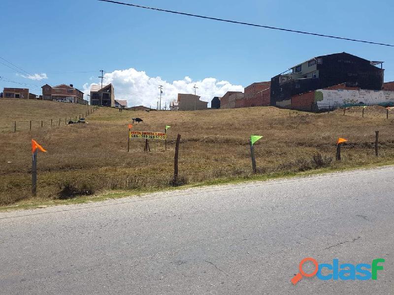Vendo lote urbano en guasca cundinamarca apto para construir vivienda