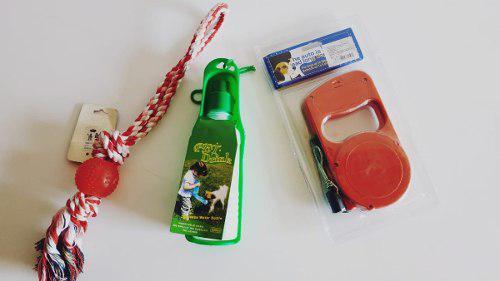Kitx3 accesorios/juguetes para mascotas color rojo/azul