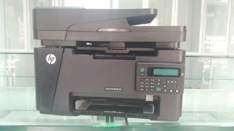 Impresora hp laser mfp m 127fn