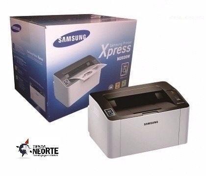 Impresora samsung xpress laser sl m2020w monocromatica ¡