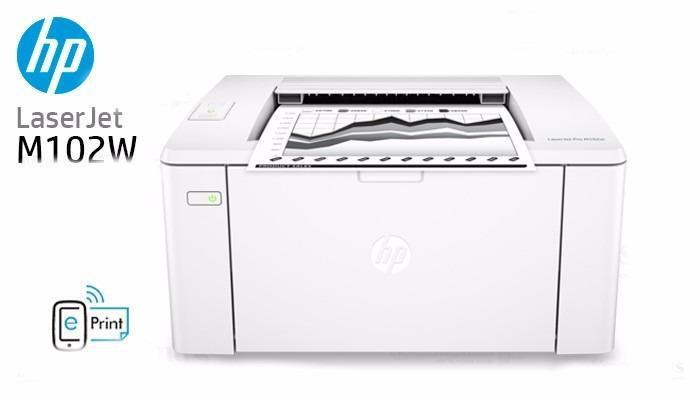 Impresora hp laser jet pro m102w oferta