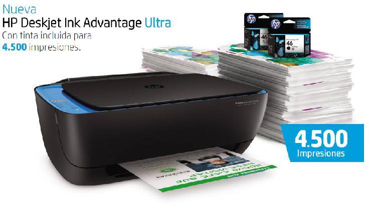 Impresoras multifuncional, hp ultra 4729, $350.000 pesos