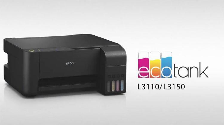 Nueva epson l3110 con sistema de tinta original ecotank 1