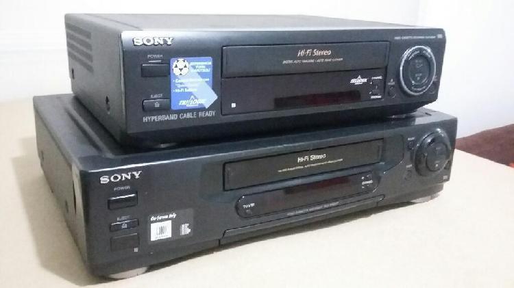 Vhs sony hi fi stereo