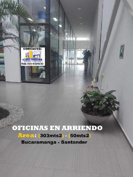 Arriendo oficinas nuevas bucaramanga, centro empresarial