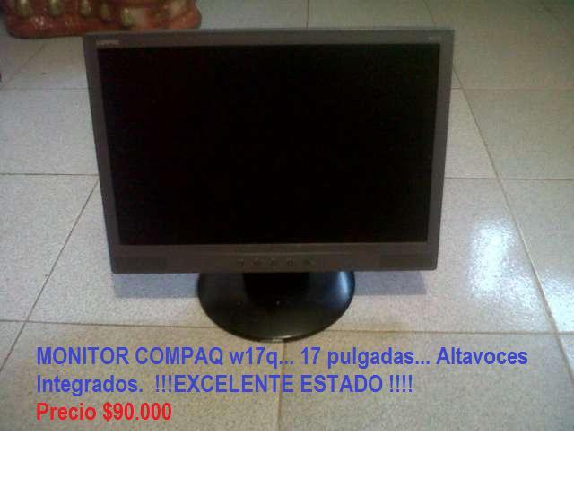 Monitor compaq w17q