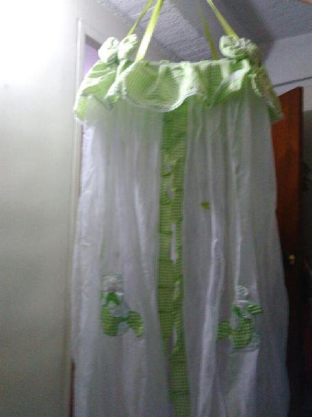 Vendo toldillo para bebe unisex color verde