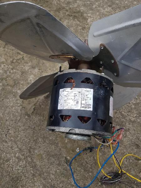 Motor ventilador refrigeracion
