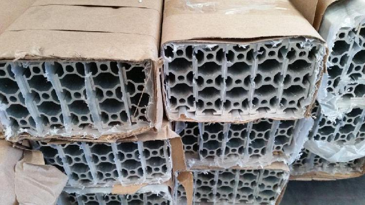 Perfil cnc aluminio estructural 4cm x 8cm x 1 m