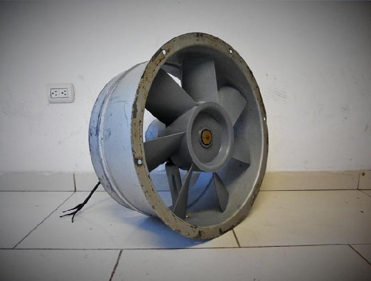 Ventilador / extractor industrial axial siemens 500mm 220v