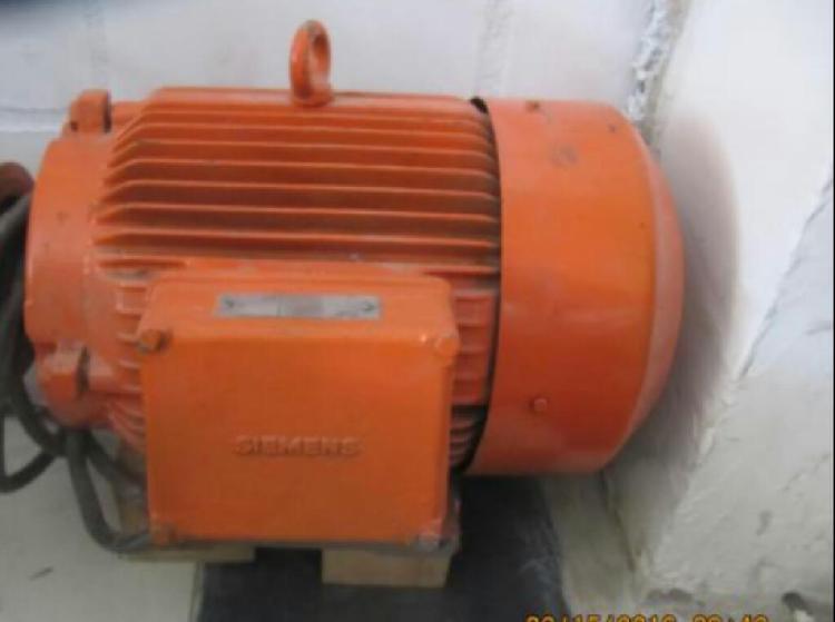 Vendo motor siemens 12 hp a 3600 rpm