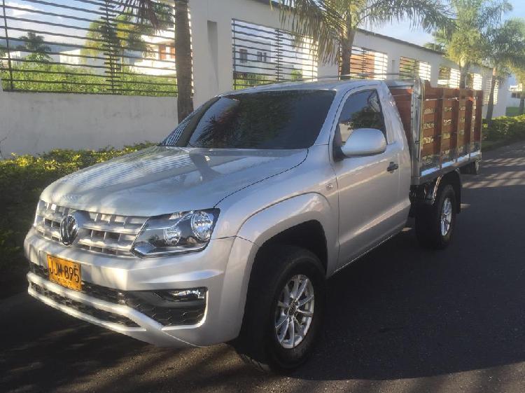 Camioneta estacas amarok diesel 4x4 2018