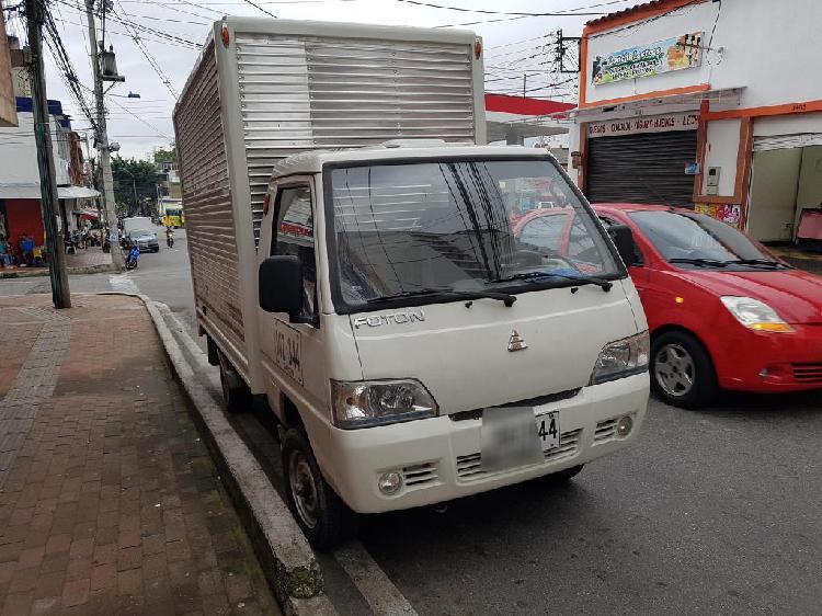 Foton minitruck diesel vendo o permuto