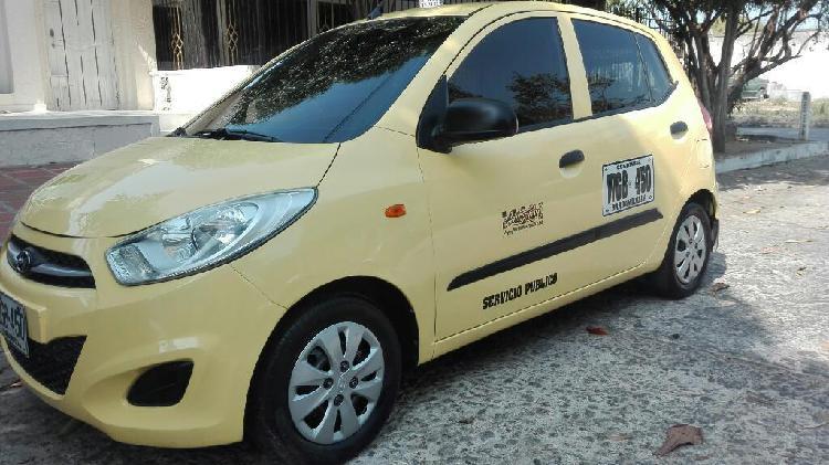 Taxi hyundai i10 2016 como nuevo