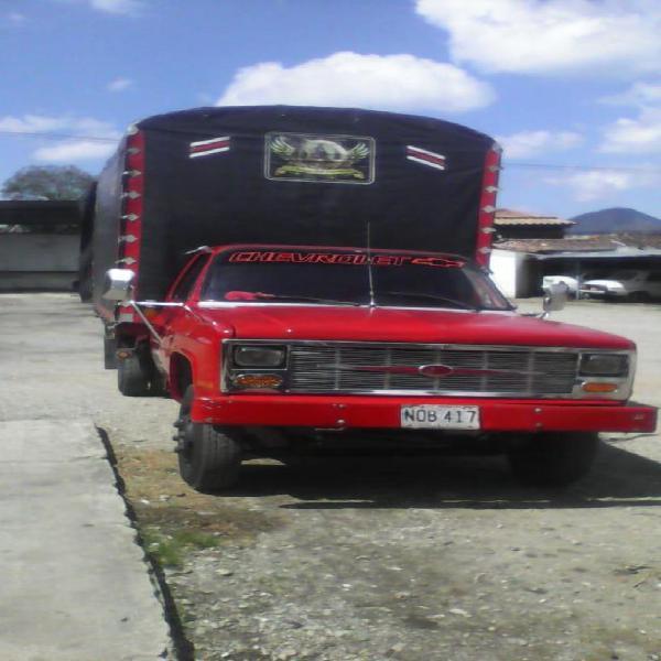 Vendo chevrolet c30 modelo 1988 motor nissan fd 35 caja de 5