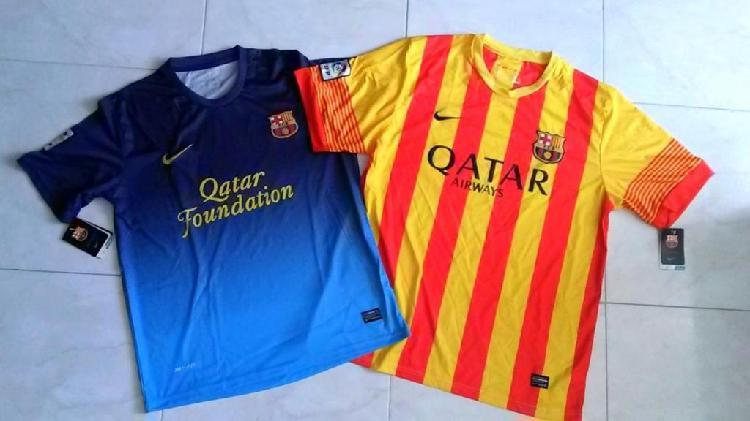 Camisetas del barcelona, nuevas, tallas xl y m.....