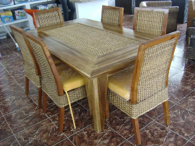 Muebles en rattan natural o sintetico