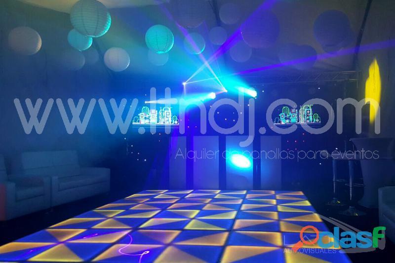 Alquiler pista de baile led   wp 3003108492