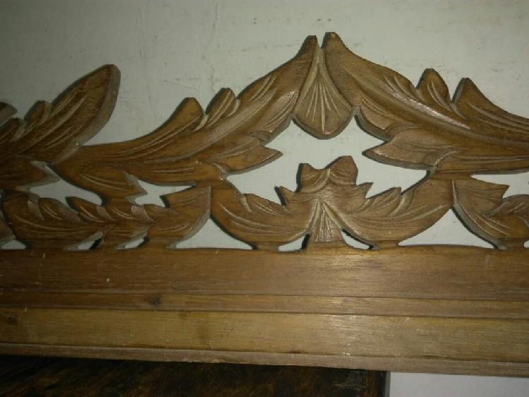12 frizos tallados en madera