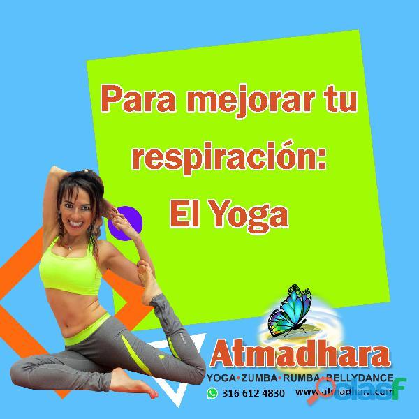 Yoga los lunes y miércoles