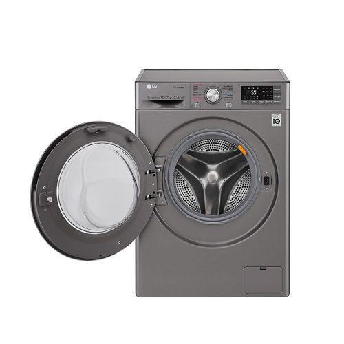 Lavadora secadora 12k/26l inverter stone silver lg wd12sb6