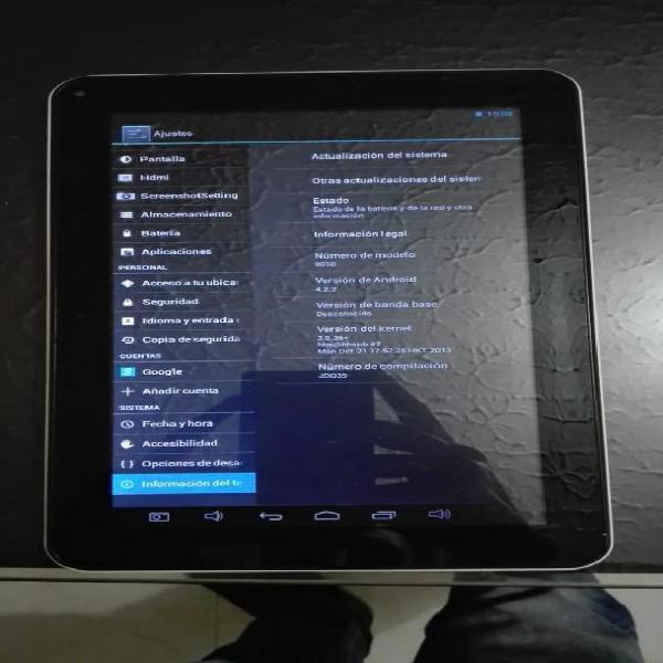 Vendo tablet krono en buenas condiciones.