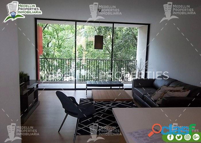 Apartamentos amoblados en alquiler medellín cód: 4606