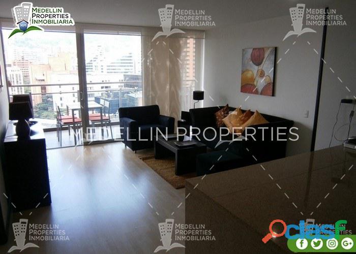 Apartamentos amoblados en alquiler medellín cód: 4582