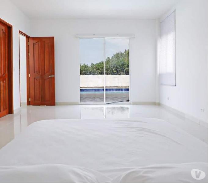 Ganga se vende casa 7 alcobas piscina manzanillo cartagena