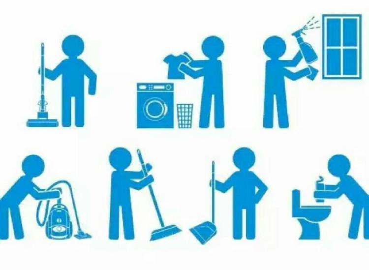 Limpieza y aseo de casas, apartamentos y oficinas.