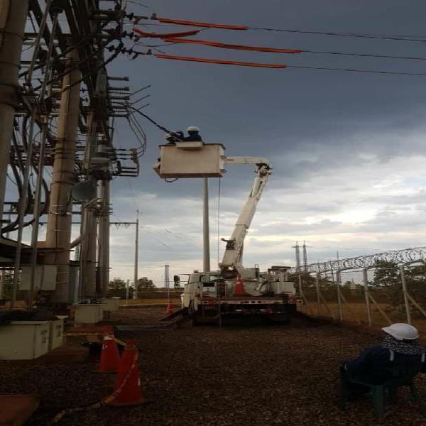 Servicios técnicos, electricidad y datos