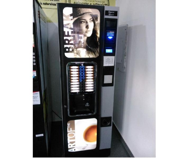 Maquina vending de cafe chocolate capuhino y mas