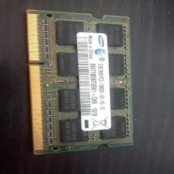 Memoria ram de 2gb para portátil