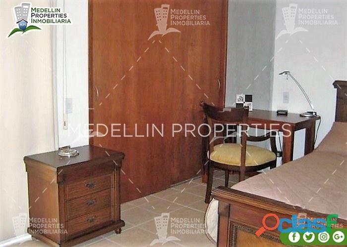 Apartamentos amoblados en alquiler medellín cód: 4370